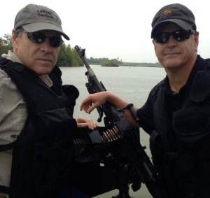 Rick Perry & Sean Hannity at the Mexican/American Border